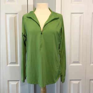 Columbia green pullover